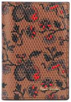 Paul Smith floral print cardholder