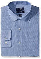 Dockers Blue-Stripe Fitted Shirt