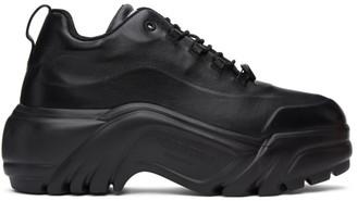 Valentino Black Garavani Chunky Platform Sneakers