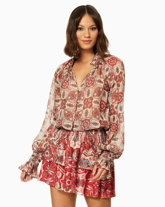 Ramy Brook Printed Collin Dress