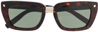 Dsquared2 Eyewear Square Frame Sunglasses