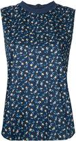 G.V.G.V. Liberty floral print boxy top - women - Cotton/Polyester/Polyurethane - 36