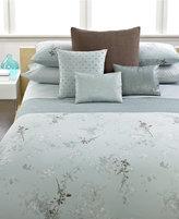 Calvin Klein Home Tinted Wake Queen Flat Sheet