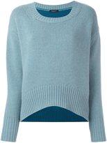 Roberto Collina colour block long sleeve sweater