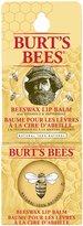 Burt's Bees 100% Natural Lip Balm Tin, Beeswax, 8.5g, Blister Box