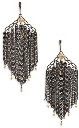 Armenta Old World Crivelli Chain Earrings