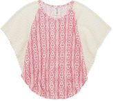 Arizona Dolman Sleeve Lace Circle Top - Girls 7-16 and Plus