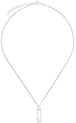 True Rocks Safety Pin Pendant Necklace