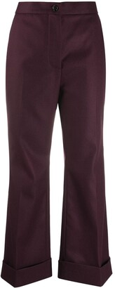 Marni Cropped Wide-Leg Trousers