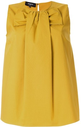 Rochas bow front blouse