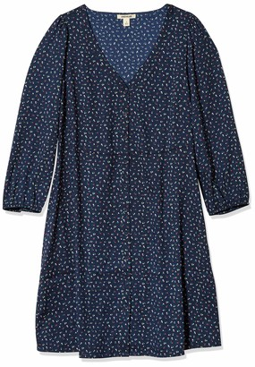 Goodthreads Georgette 3/4-sleeve Button-Front Dress