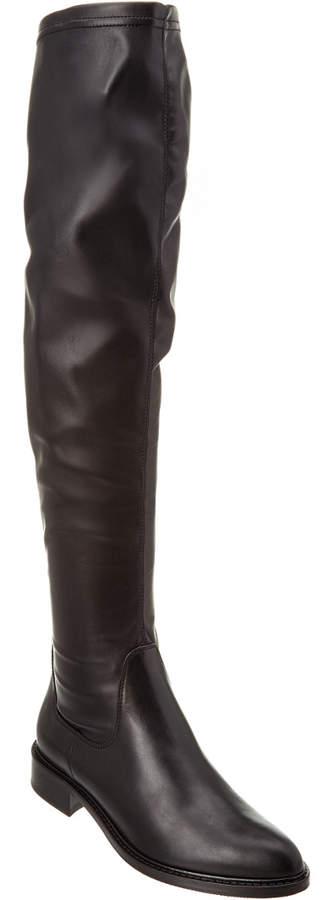 Aquatalia Gisele Waterproof Leather Over-The-Knee Boot