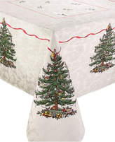 Spode Christmas Tree Tablecloth, Created for Macy's, 60 x 120