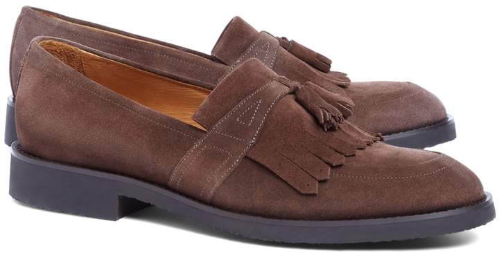 Thumbnail for your product : Brooks Brothers Suede Kiltie Tassel