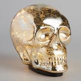 World Market Mercury Glass LED Light Skull