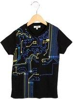 Junior Gaultier Boys' Graphic Print Short Sleeve Shirt