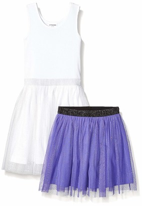 Spotted Zebra Toddler Girls' Tutu Tank Dress and Skirt Set