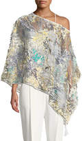Casual Express Apparel Co 3D-Mesh Floral Topper