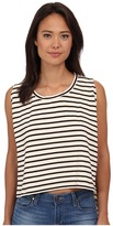 Free People Madness Stripe Muscle Tank Top