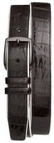 Mezlan Men's 'Saratoga' Genuine Crocodile Leather Belt