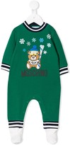 Moschino Kids Teddy ski romper