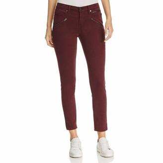 Kenneth Cole Women's Moto Skinny Jean with Zip Pockets