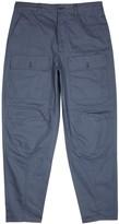 Acne Studios Pat Blue Cotton Twill Trousers