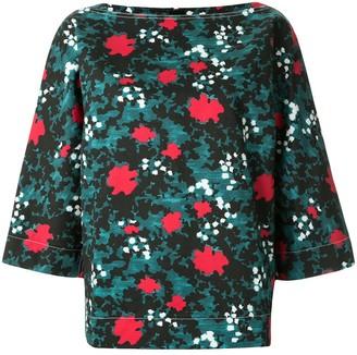 Marni Floral Print Boxy Fit Shirt