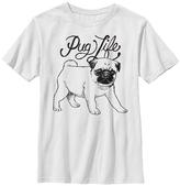 Fifth Sun White 'Pug Life' Tee - Boys