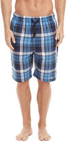 Perry Ellis Woven Large Plaid Sleep Short