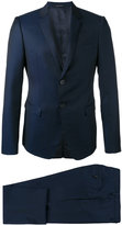 Emporio Armani two piece suit - men - Cupro/Wool/Virgin Wool - 48