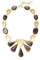 Bounkit Smokey Quartz Statement Necklace