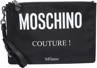 Moschino Logo Couture! Pouch
