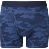 Uniqlo Men Supima Cotton Waffle Printed Boxer Briefs