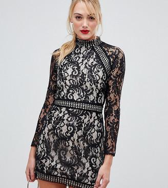 Parisian Tall long sleeve lace dress