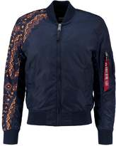 Alpha Industries Bomber Jacket Rep Blue