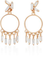 Suzanne Kalan 18K Rose Gold Diamond Earrings
