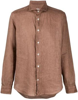 Eleventy Regular-Fit Linen Shirt