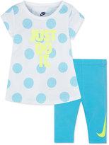 Nike 2-Pc. Tunic & Capri Leggings Set, Toddler & Little Girls (2T-6X)