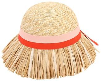 Mi Mi Sol Straw Hat W/ Fringes
