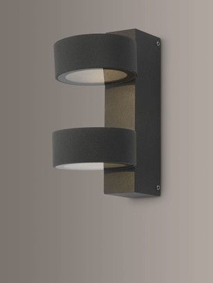 Dar Bohdan LED Outdoor Wall Light, Anthracite