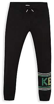 Kenzo Little Kid's & Kid's Logo Graphic Jogging Pants