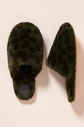 Anthropologie Sadie Slippers By in Beige Size S/M