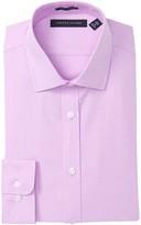 Tommy Hilfiger Solid Slim Fit Stretch Dress Shirt