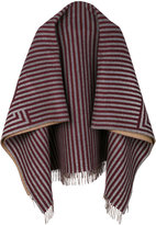 Fendi stripe print scarf - women - Cashmere/Wool - One Size