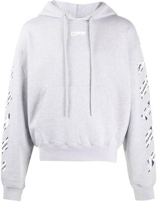 Off-White Airport Tape print hoodie