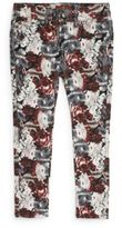 7 For All Mankind Toddler's & Little Girl's Floral-Print Skinny Jeans