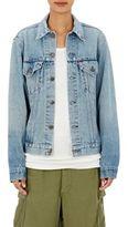 Icons Women's Denim Jacket-BLUE