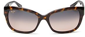 Maui Jim Plumeria Cat Eye Sunglasses, 55mm