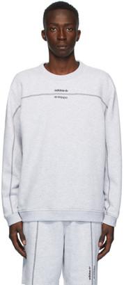 adidas Grey Crew Sweatshirt
